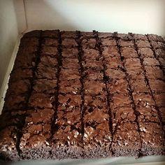 Resepi Brownies Original Resepi Brownies, Brownies Kukus, Chewy Brownies, Brownie Recipes, Cupcake Recipes, Chocolate Recipes, Baking Recipes, Snack Recipes, Pandan Layer Cake