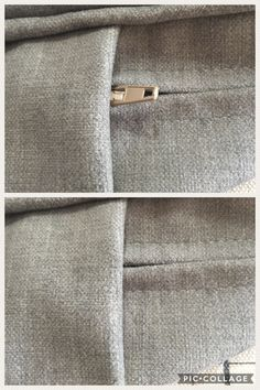 Make a tuck in cushion boxing to hide the zip pull How To Make Curtains, Soft Furnishings, Boxing, Cushions, Zip, Throw Pillows, Toss Pillows, How To Sew Curtains, Reupholster Furniture