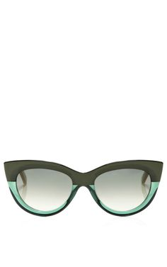 Shop Cat-Eye Acetate Sunglasses by Marni Now Available on Moda Operandi