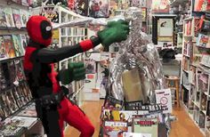 """fangirl-of-epic-everythings: """" pockyseeker: """" causeloveisallivegot: """" fangirl-of-epic-everythings: """" Guys. People Who Fucking Cosplay Deadpool Fucking Deserve All the Fucking Awards. Deadpool Cosplay, Deadpool And Spiderman, Marvel Dc, Marvel Comics, Dead Pool, Spideypool, Geek Humor, Funny Stories, Marvel Cinematic Universe"""