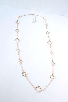 Cute long necklace