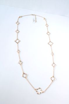 Dear Stitch Fix: I need this Trisha Clover Charm Layering Necklace in my next Stitch Fix! So cute :)
