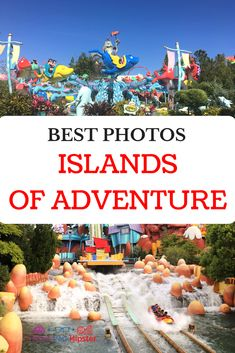 Some of the best places to take photos at Islands of Adventure is seen all over social media. I personally love my Instagram worthy shots, but there are other spots I choose frequently to take my favorite pics when at the park. #travel #universalstudios #themepark #islandsofadventure