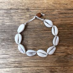 Cowrie Shell Bracelet and Anklet
