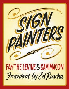 The Sign Painter Movie & Book