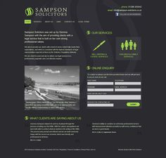 Professional website design for Sampson Solicitors. Created by MD Web Solutions in Bude, Cornwall Website Design Company, Website Designs, Web Design Agency, Md Web, Software Development, Bude Cornwall, Digital Marketing, Professional Website, Graphic Design