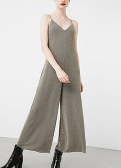 b2690e9ed9f Mango Womens Metallic Jumpsuit Gold Xs    You can get additional details at  the image