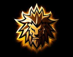 lion mascot logo