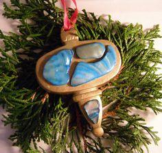 Blue Shell Christmas!      team Unity group 3 by Patti Richmond Mills on Etsy