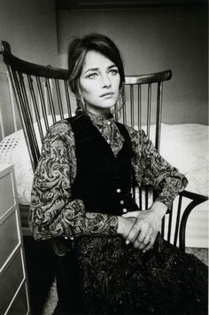 Charlotte Rampling. Love her outfit. via Saw Kill River tumblr.