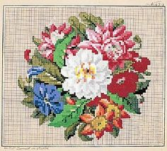 Pin by Инесса Абрамова on Berlin WoolWork Pattern  353e3e9dc5f26