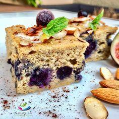 Borůvkový koláč z cizrny s mandlemi a skořicí je nejen rychlý na přípravu, zdravý, ale výborně chutná. Borůvkový koláč si zamilejte po prvním kousnutí.
