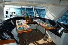 Yacht, Holiday, Gocek, Ebédlő