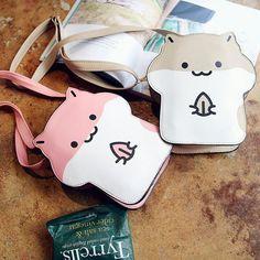 "Japanese cute hamster bags   Coupon code ""cutekawaii"" for 10% off"