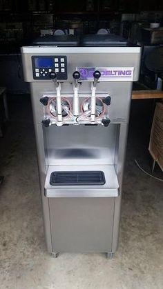 Electric Ice Cream Maker Machine Soft Serve Yogurt Sherbet Frozen Desserts Party