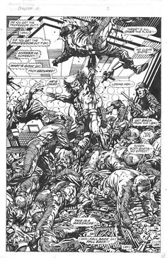 Weapon-X Barry Windsor Smith. Comic Book Pages, Comic Page, Comic Book Artists, Comic Book Characters, Marvel Characters, Comic Artist, Comic Books Art, Wolverine Art, Black And White Comics