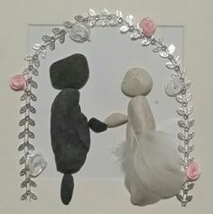 Wedding pebble pictures :)
