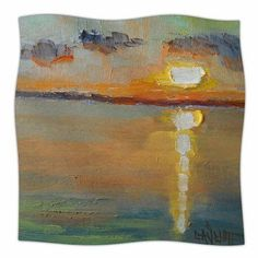 "East Urban Home Reflective Throw Blanket Size: 60"" L x 50"" W"
