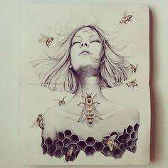 Seaweed Kisses: The Journal Diaries- Mori's Drawings