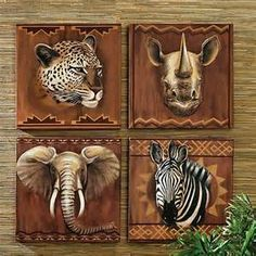 Safari home decor on pinterest african home decor safari and