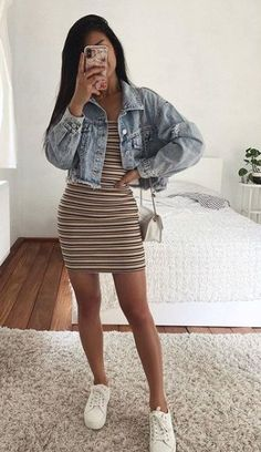 20 Cute Spring Outfits for Teen Girls First Date Outfit Casual, Winter Date Outfits, Cute Date Outfits, Sun Dress Casual, First Date Outfits, Cute Spring Outfits, Cute Teen Outfits, Cute Casual Outfits, Cute Going Out Outfits