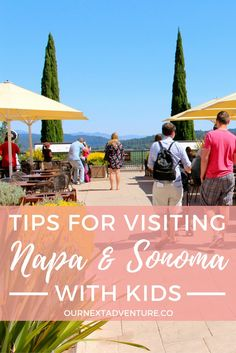 From family-friendly Napa Valley wineries to babysitting services, here's 8 tips for taking a wine country trip to Napa and Sonoma with kids | ournextadventure.co