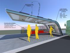 nextstopdesign.com | Viewing Design | Solar powered bus station