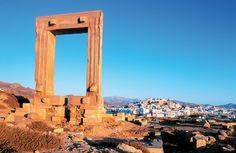 Naxos Adası Tarihi Yerler