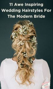 Looking for that effortless elegance in your wedding hairstyle? These 11 looks are sure to inspire!