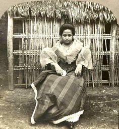 Filipino woman circa 1900 Eugene Domingo as Maria Clara Philippines People, Philippines Culture, Manila Philippines, University Of California Riverside, Philippine Holidays, Filipino Culture, Maria Clara, Historical Pictures, People