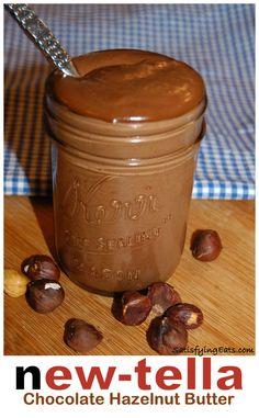 New-tella Chocolate Hazelnut Butter