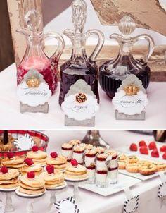 waffle/pancake bar, yogurt bar, and mini quiche?!