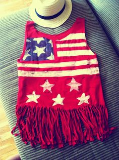 DIY shirt for the 4th of July!