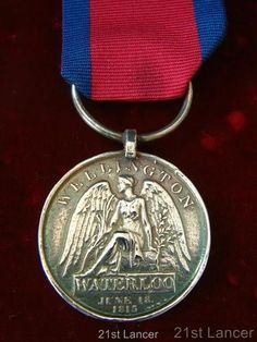 BATTLE OF WATERLOO MEDAL