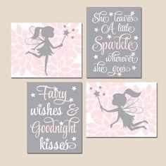 fairy wall art for baby Fairy Nursery, Fairy Bedroom, Baby Girl Nursery Decor, Nursery Canvas, Nursery Prints, Nursery Wall Art, Baby Wall Art, Art Wall Kids, Pink Bedroom For Girls