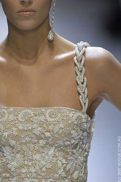 Lovely shoulder straps, earrings
