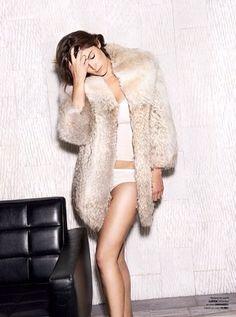 Image via We Heart It https://weheartit.com/entry/165936704 #beautiful #brunette #clothes #gemmaarterton #hair #outfit #shooting #woman