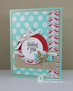 Fresh Prints Thinking of You by fl_beachbum - Cards and Paper Crafts at Splitcoaststampers