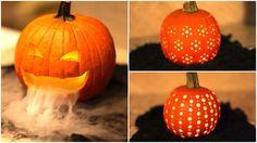Decorazioni zucche per halloween