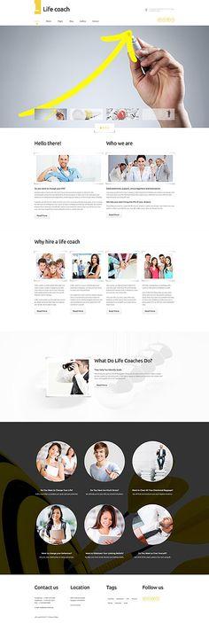 Personal & Life Coach Services #Joomla #template. #themes #business #responsive #Joomlathemes