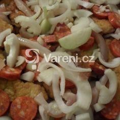 Fotografie receptu: Zapečené obrácené řízky Meat, Chicken, Food, Cooking, Essen, Meals, Yemek, Eten, Cubs