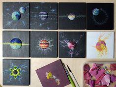 Follow your own artistic flow, create, don't overthink! Mixed Media Art Studies, Stephanie Kilgast
