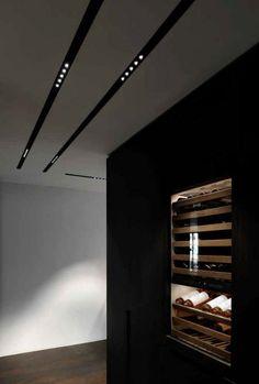 Apartment in Paris – Lighting by Kreon – toptrendpin. Interior Lighting, Decor Interior Design, Modern Lighting, Lighting Design, Ceiling Light Design, False Ceiling Design, Home Design 2017, House Design, Light Architecture