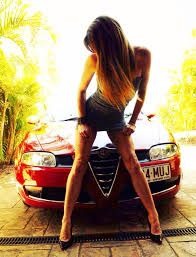 Classic Car News Pics And Videos From Around The World Sexy Cars, Hot Cars, Car Poses, Europe Car, Alfa Romeo Spider, Alfa Romeo Cars, Best Muscle Cars, N Girls, Hot Brunette