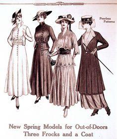 Vintage Fashion Illustration | Flickr - Photo Sharing!