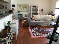 One Bedroom Apartment, Apartment Interior, Studio Apartment, Apartment Ideas, Nerd Bedroom, Bedroom Ideas, Living Room Inspiration, Home Decor Inspiration, Decor Ideas