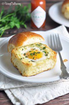 ブリオッシュのエッグカップトーストのレシピ