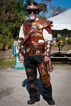 Risultati immagini per real steampunk guys Steampunk Armor, Steampunk Pirate, Steampunk Costume, Steampunk Clothing, Steampunk Fashion, Steampunk Outfits, Victorian Steampunk, Gothic, Well Dressed Men