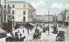 Blarney Woollen Mills writes about their top 5 historic places to visit in Cork including Blarney castle, UCC and the English Market. Old Photos, Vintage Photos, Cork City, County Cork, Cork Ireland, Historian, St Patrick, Dollhouse Miniatures, Places To Visit