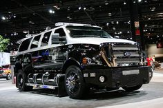 Ford chassis cab trucks equipped with a Roush CleanTech propane autogas fuel system can now be ordered, Roush said. Production of the vehicles will begin in October. Ford F650, Ford Bronco, Custom Trucks, Lifted Trucks, Cool Trucks, Pickup Trucks, Cool Cars, Mudding Trucks, Custom Cars